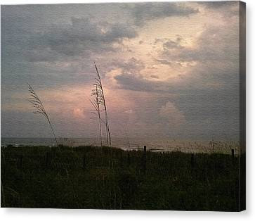 Myrtle Beach At Dusk Canvas Print