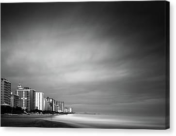 Myrtle Beach Ocean Boulevard Canvas Print by Ivo Kerssemakers