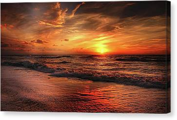 Myrtle Beach South Carolina Sunrise Canvas Print