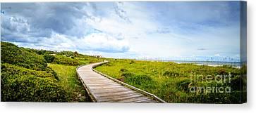 Myrtle Beach State Park Boardwalk Canvas Print