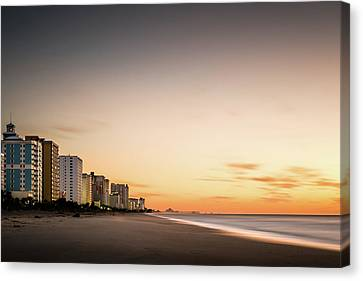 Myrtle Beach Sunrise Canvas Print by Ivo Kerssemakers