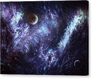 Mysterious Dreams Abstract Moods Canvas Print