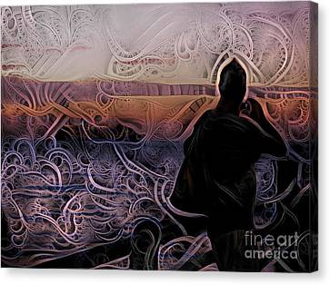 Figment Canvas Print - Mysterious Fog by Trudee Hunter
