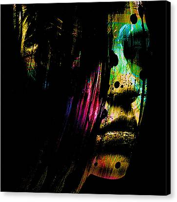 Mysterious Girl Canvas Print