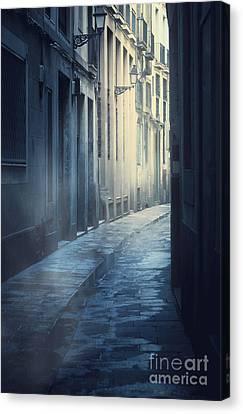 Mysterious Street Canvas Print by Svetlana Sewell