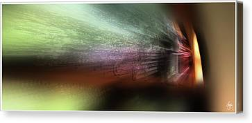 Canvas Print featuring the photograph Mystery Around The Bend by Wayne King