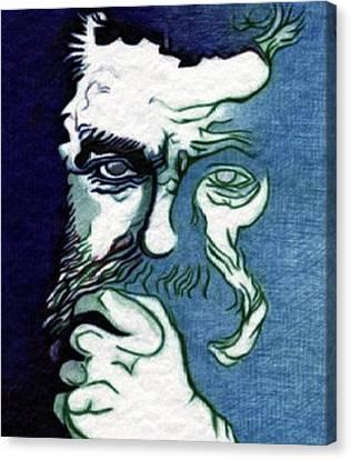 Biro Art Canvas Print - Mystery by Jerry  Stith