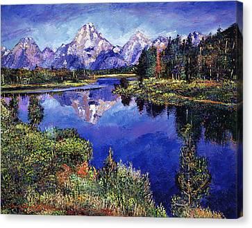 Mystery Lake Canvas Print