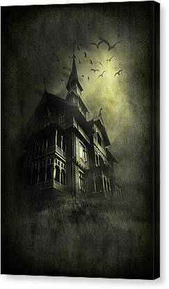 Mystery Light Canvas Print by Svetlana Sewell