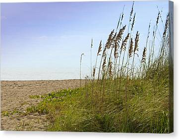 Canvas Print featuring the photograph Mystic Beach by Robert Smith