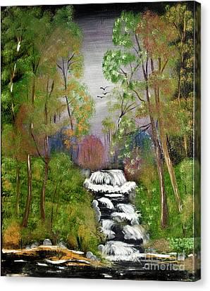 Mystic Fall Canvas Print