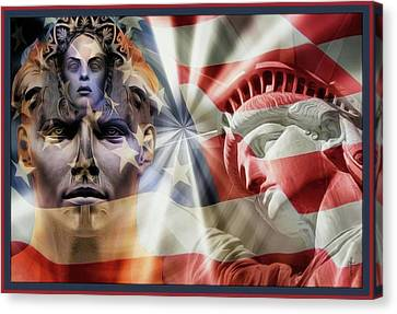 Mystic Liberty Canvas Print