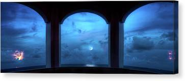 Mystic Moonrise Canvas Print