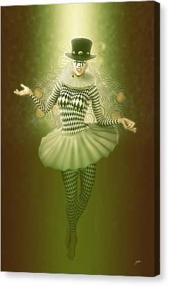 Mystic Pierrette Canvas Print