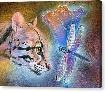 Canvas Print featuring the painting Mystic by Ragen Mendenhall