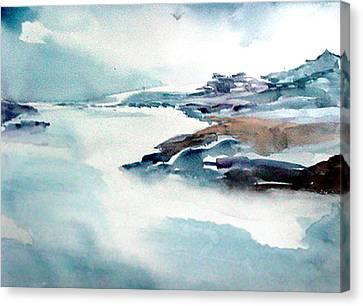 Mystic River Canvas Print by Anil Nene