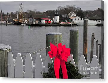 Canvas Print - Mystic River by Catherine Reusch Daley