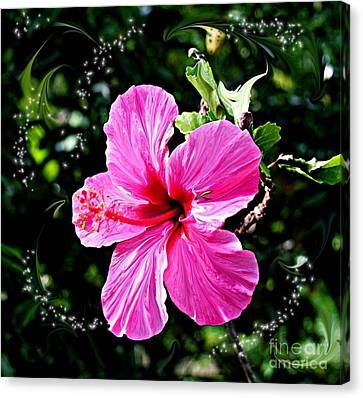 Canvas Print featuring the photograph Mystical Bloom by The Art of Alice Terrill