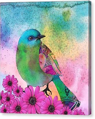 Mystical Garden Canvas Print by Robin Mead