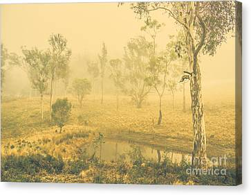 Mystical Lake Canvas Print by Jorgo Photography - Wall Art Gallery