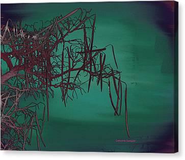 Mystical Landscape Canvas Print