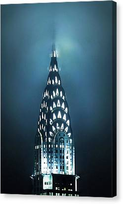 New York City Skyline Canvas Print - Mystical Spires by Az Jackson