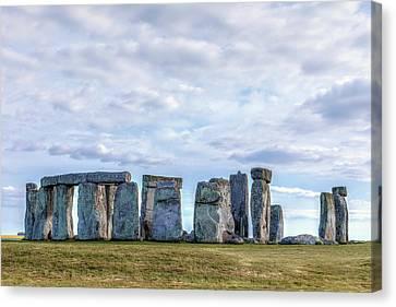 Amesbury Canvas Print - Mystical Stonehenge - England by Joana Kruse