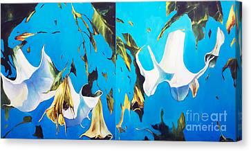 Mysticoblue Canvas Print