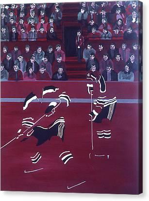N J D Canvas Print by Ken Yackel