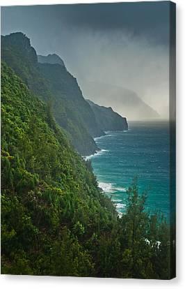 Na Pali Coast Canvas Print by Thorsten Scheuermann