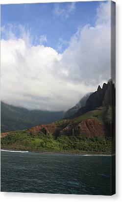Na Pali Coast Valley Canvas Print