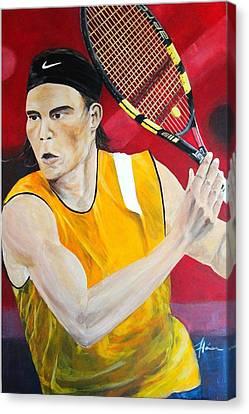 Nadal Canvas Print by Flavia Lundgren