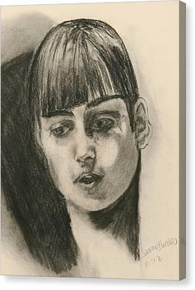 Nadia Comaneci Canvas Print