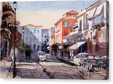 Nafplio Old Town Canvas Print by Sof Georgiou