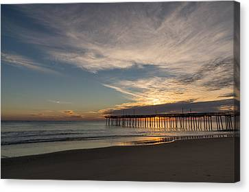 Nags Head Sunrise Canvas Print by Gregg Southard