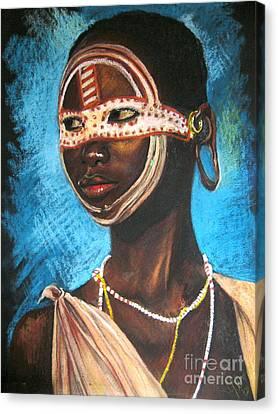 Nairobi Girl Canvas Print