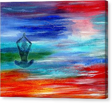 Namaste Canvas Print by The Art With A Heart By Charlotte Phillips