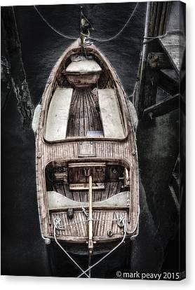 Nantucket Boat Canvas Print