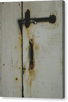 Nantucket Door Canvas Print