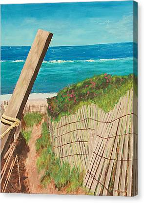 Nantucket Dream Canvas Print by Cynthia Morgan