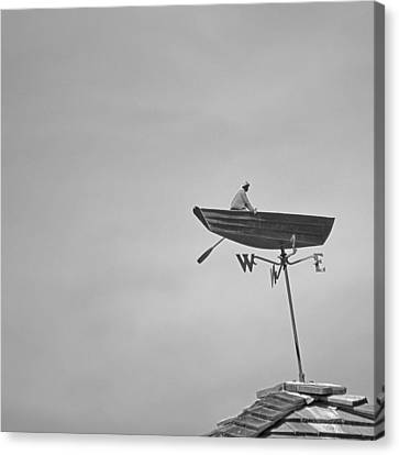 Nantucket Weather Vane Canvas Print by Charles Harden