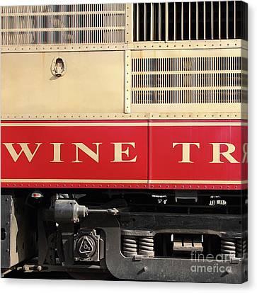 Canvas Napa Valley Wine Train Art print POSTER