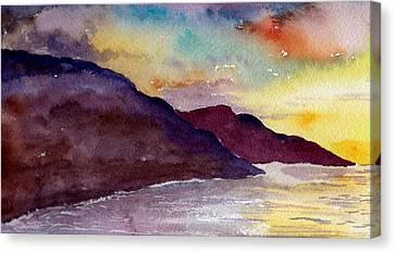 Napali Coast Kauai Hawaii Canvas Print