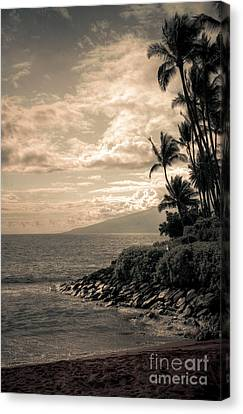 Canvas Print featuring the photograph Napili Heaven by Kelly Wade