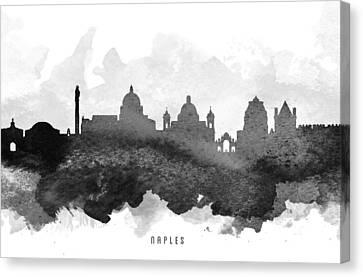 Naples Cityscape 11 Canvas Print