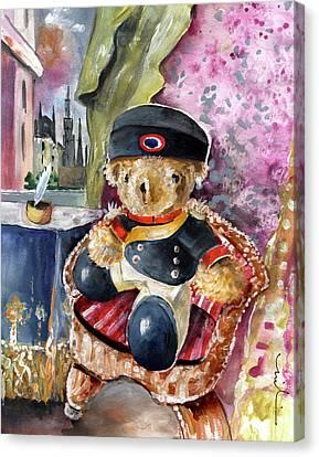 Napoleon Bearnaparte Canvas Print