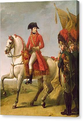 Napoleon Bonaparte Canvas Print by Baron Antoine Jean Gros