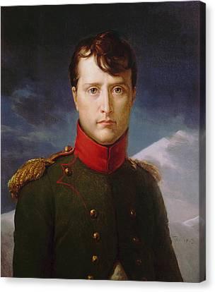 Napoleon Bonaparte Premier Consul Canvas Print