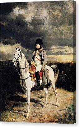 Napoleon I In 1814 Canvas Print by Ernest Meissonier