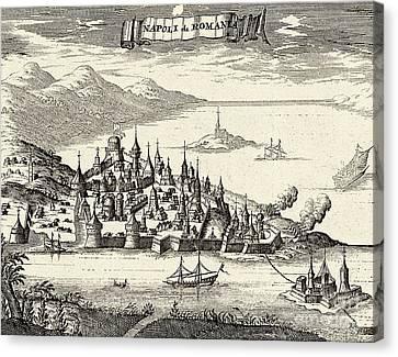 Napoli Di Romania - Nafplio Greece Canvas Print